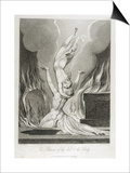 The Reunion of the Soul and the Body, Pl.13 Posters by William Blake