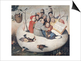 The Concert in the Egg Prints by Hieronymus Bosch