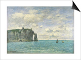 The Cliffs at Etretat, 1890 Prints by Eugène Boudin