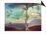 The Solitary Cedar, 1907 Posters by Tivadar Csontvary Kosztka