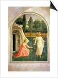 Noli Me Tangere, 1442 Art by  Fra Angelico