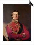 Portrait of Arthur Wellesley Posters by Thomas Lawrence