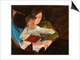 Reading, 2004 Prints by Daniel Clarke