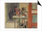 Lisbeth Reading Print by Carl Larsson