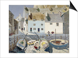 Polperro Prints by Eric Hains