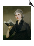 Portrait of Mary Wollstonecraft (1759-97) C.1793 Posters by John Keenan