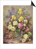 June's Floral Glory Prints by Albert Williams