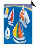 Morning Sail Prints by Sarah Gillard