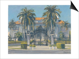 Flagler Museum, Palm Beach, 2010 Posters by Julian Barrow