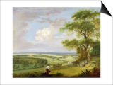 Hackwood Park, Hampshire Prints by Paul Sandby