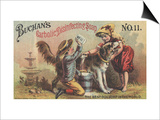 Advertisement for Buchan's Carbolic Disinfecting Soap No. 11, C.1880 Prints by  American School