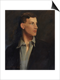 Portrait of Siegfried Sassoon (1886-1967) 1917 Prints by Glyn Warren Philpot