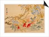 Poissons rouges Affiches par Ni Tian