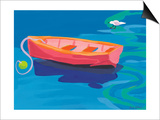 Gull and Boat, 2009 Prints by Sarah Gillard
