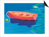 Gull and Boat, 2009 Prints by Sarah Gillard