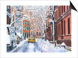 Snow, West Village, NYC, 2012 Posters by Anthony Butera