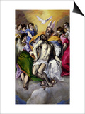 The Trinity, 1577-79 Posters by  El Greco