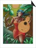 Fantasia Boricua Prints by Oscar Ortiz