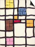 Allsorts 1 (After Mondrian) 2003 Prints by Norman Hollands