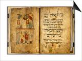 Birds' Head Haggadah, C.1300 Prints by German School