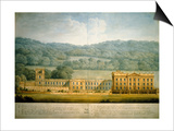 The West Front of Chatsworth House Prints by Sir Jeffry Wyatville