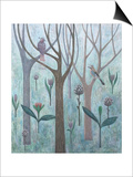 Fantasy Garden, 2005 Prints by Ruth Addinall