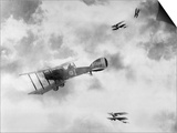World War One Aircraft, 1916-17 Art by  English Photographer