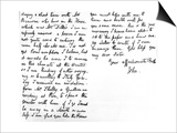 Letter to His Younger Sister, Fanny Keats, Mentioning That He Is Staying as a Guest of Mrs Prints by John Keats