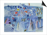 The Regatta at Cowes Posters by Raoul Dufy