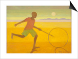 Running Boy,2010 Posters by Tilly Willis