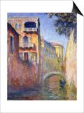 Le Rio de La Salute, 1908 Posters by Claude Monet