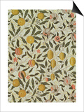Fruit or Pomegranate Wallpaper Design Prints by William Morris