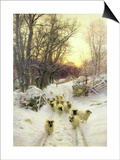 The Sun Had Closed the Winter's Day Posters by Joseph Farquharson
