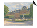 Place Des Voges, 2010 Print by Julian Barrow