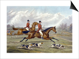 Full Cry, Plate from 'The Right and the Wrong Sort', in Fores Hunting Sketches, Engraved by John Posters by Henry Thomas Alken