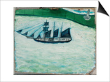 Ship and Lighthouse, c.1925 Posters by Alfred Wallis