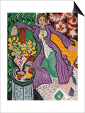 Woman in a Purple Coat, 1937 Poster by Henri Matisse