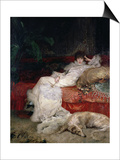 Sarah Bernhardt 1876 Posters by Georges Clairin