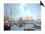 A View of the Grand Canal Prints by  Canaletto