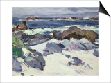A Rocky Shore, Iona Posters by Samuel John Peploe