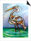Heron, 2005 Prints by Xavier Cortada