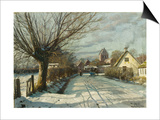 Hoje Taastrup Church, Outside Copenhagen, 1922 Prints by Peder Mork Monsted