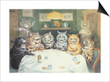 The after Dinner Speaker Posters by Louis Wain