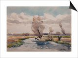 Landscape Prints by Henri Duhem