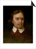 Portrait Study of Oliver Cromwell (1599-1658) Posters by Martin Johnson Heade
