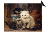 Afternoon Tea Posters by Henriette Ronner-Knip
