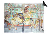 New Orleans, Carousel, 1998 Art by Anthony Butera
