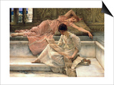 The Favourite Poet, 1888 Posters by Sir Lawrence Alma-Tadema