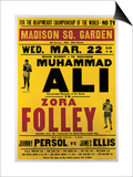 Poster Advertising the Fight Between Muhammad Ali and Zora Folley, Madison Square Garden, 22nd Poster by  American School