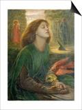 Beata Beatrix Print by Dante Gabriel Rossetti